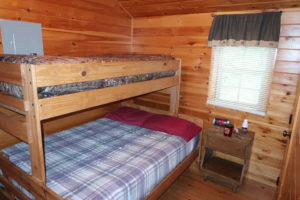 The-View-Cataract-Lake-Log-Cabin-Rental-Inside-Master-Bedroom-4-Cloverdale-Indiana